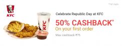 PhonePe KFC Offer – Get 50% Cashback on First Order