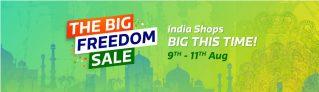Flipkart Freedom Sale – Huge Discount + Additional Offer 9th-11th Aug