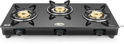 Flipkart – Buy Ideale Triox-KT Steel Manual Gas Stove (3 Burners) at Rs.1,999 Only
