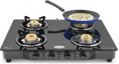 Flipkart – Buy Ideale Quatre-T Steel Manual Gas Stove  (4 Burners) at Rs.1,999 Only