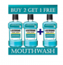PaytmMall Offer – Buy 2 Get 1 free Listerine Cool Mint in just Rs 149
