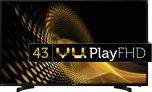 Flipkart – Buy Vu 109cm (43 inch) Full HD LED TV in justRs 22,999